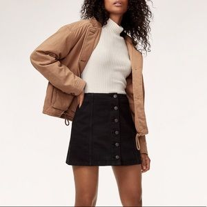 Aritzia | AHREN Denim Mini Skirt